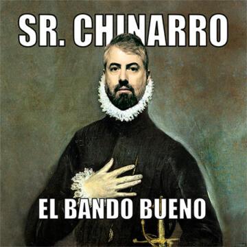 Sr. Chinarro El bando bueno